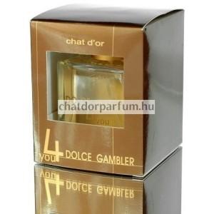 Chat D'or Dolce Gambler 4you Parfüm